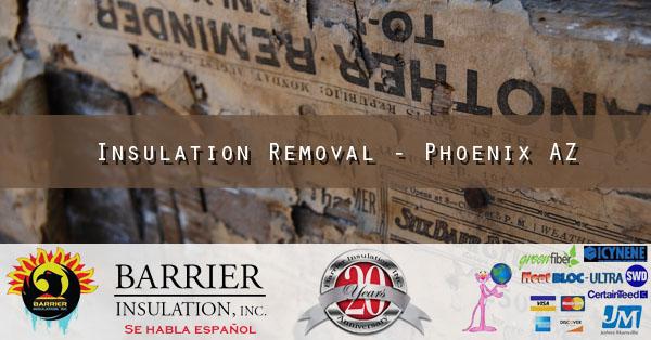 Insulation Removal - Phoenix AZ 2