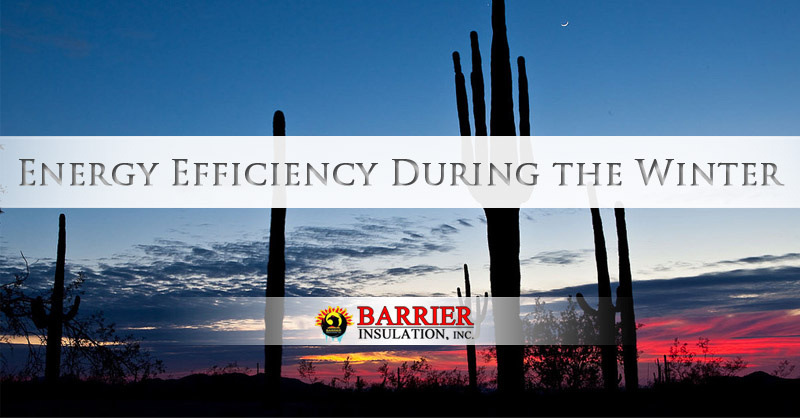 Energy Efficiency During the Winter