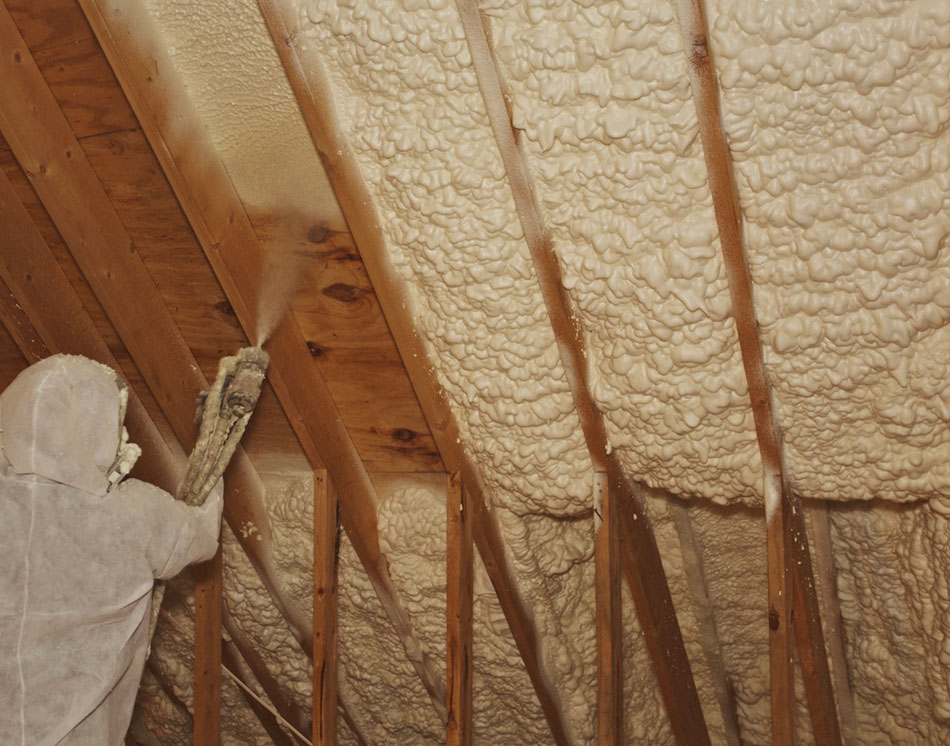 Insulate Your Roof with Spray Foam Insulation