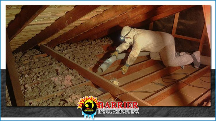 How To Remove Blown In Insulation