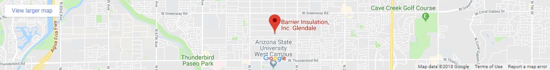 Barrier Insulation Map