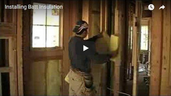 Batt Insulation Video