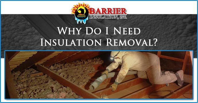 Insulation Removal Amp Replacement Phoenix Az Barrier