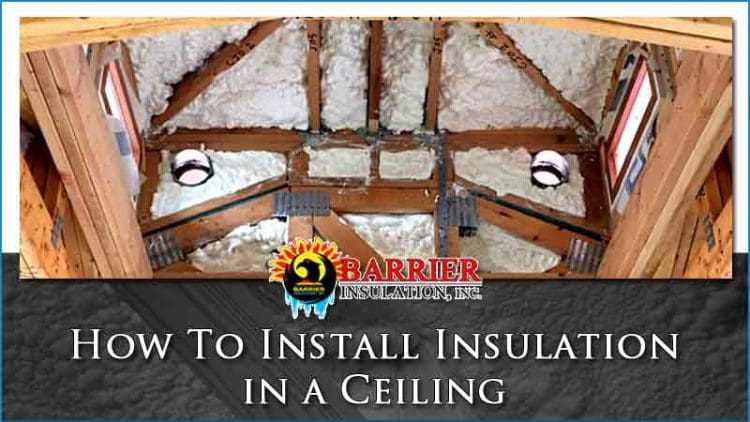 How-To-Install-Insulation-in-a-Ceiling